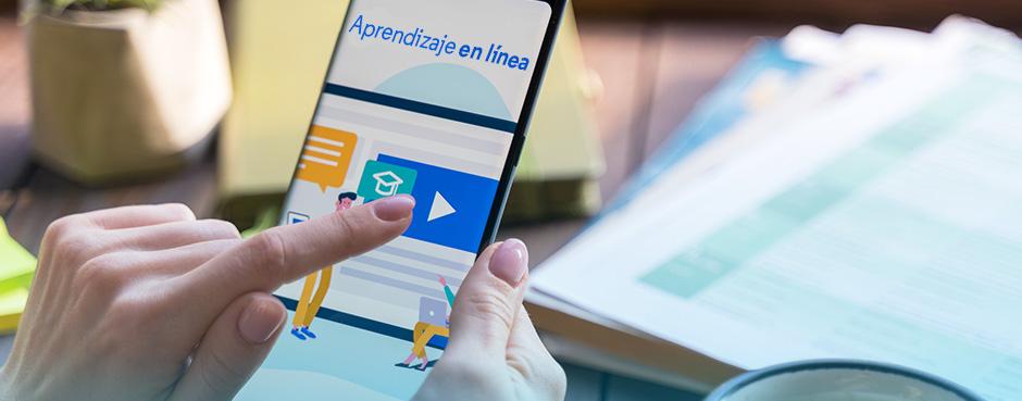 Aprendizaje en línea: una opción para las escuelas en tiempo de crisis